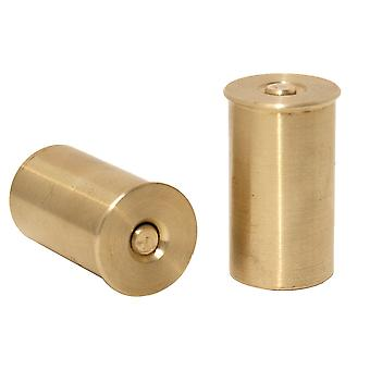 Bisley 12 Gauge Bore Brass Snap Caps - 2 pack