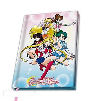Sailor Moon Sailor Warriors A5 Notebook