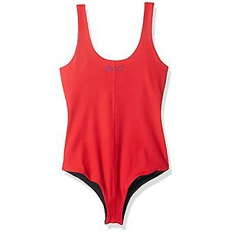 Hurley Women's Apparel Quick Dry Merica' USA 1-Piece Swimsuit Bodysuit, Gym r...