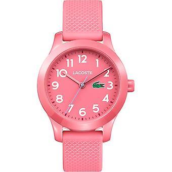 Lacoste 2030006 Children's 12.12 Pink Silicone Wristwatch