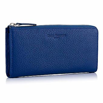 Sapphire Blue Richmond Leather Zip Wallet