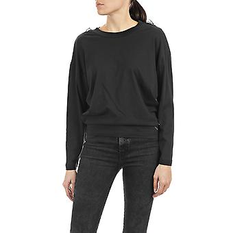 Replay Women's Blouse With Tulle