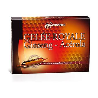 Royal Jelly Bulbs - Ginseng - Acerila 20 bulbs