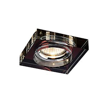 Recessed Downlight Deep Square Rim Only Purple, Requires 100035310 To Complete The Item