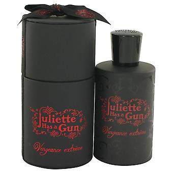 Lady Vengeance Extreme Eau De Parfum Spray By Juliette Has A Gun 3.3 oz Eau De Parfum Spray