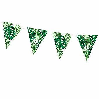 Aloha Tropical Party Leaves Garland 1.3m