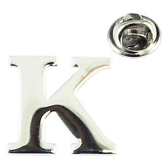 Bånd Planet Alfabet Bogstav K Revers Pin Badge