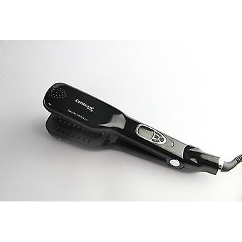 Cenocco CC-9014; Steam Brush, Haartangen, Stoomtang, Curly Hair Solution Zwart