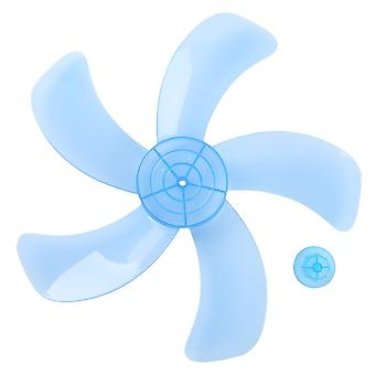 12/16 Inch Household Fan Blade Three/five Leave Plastic Impellor With Nut Cover