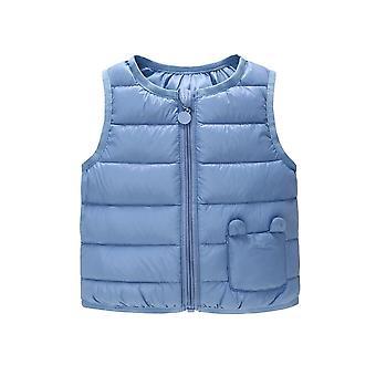 Bambino Abbigliamento Giù Vest Ragazze Ragazzi Inverno Neonato Verme Bambini Cappotto