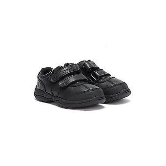 Buty skórzane Oxford Timberland małych dzieci czarny Woodman Park
