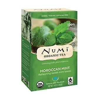 Numi Tea Organic Tea, Moroccan Mint 18 BAG