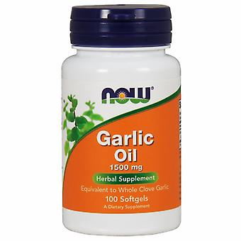 Now Foods Garlic Oil, 1500 mg, 100 Sgels