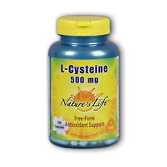 Nature's Life L-Cysteine, 500 mg, 100 Caps