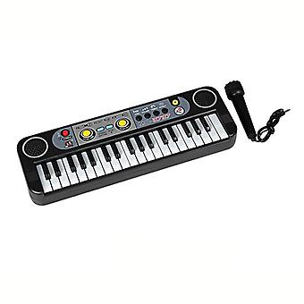 Musical Instruments, Mini 37 Keys Electone Keyboard With Microphone