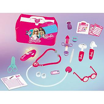 theo klein barbie doctor bag with accessories including stethoscope for ages 3+