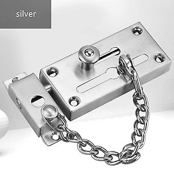 304 Stainless Steel Thickened Anti-theft Safety Lock Chain Door Bolt