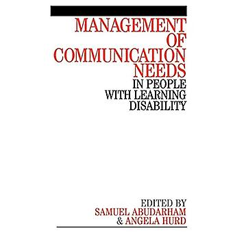 Management of Communication Needs: In People with Learning Disability