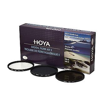 Hoya 67 mm filter kit ii digital for lens