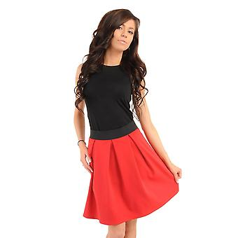 Red moe skirts