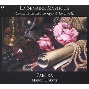 Conjunto Faenza/Horvat Marc - cantos De devoción Du Regne [CD] USA importar