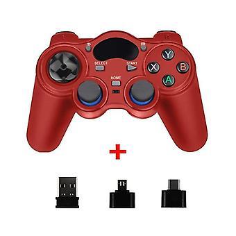 2.4g Wireless Gamepad Joystick mit Otg Konverter für Ps3/ Smart Phone / Tablet Pc