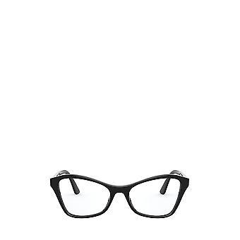 برادا العلاقات العامة 11XV النظارات النسائية السوداء