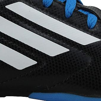 Adidas Conquisto FG Core Black/Footwear White-Sole Blue B25593 Grade-School