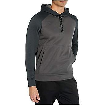 Brand - Peak Velocity Men's Quantum Fleece Pull-Over Loose-Fit Hoodie