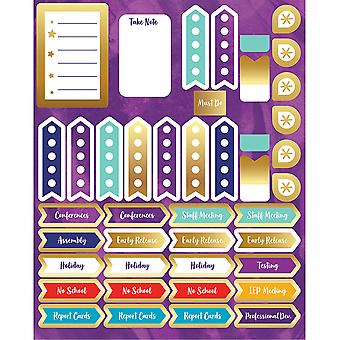 Galaxy Planner Accents Sticker Pack, 252 pegatinas