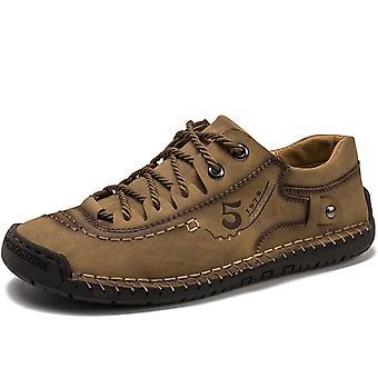 Men's Casual Shoes Men Leather Winter