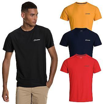 Berghaus Mens 2021 24/7 Tech Basecrew camiseta elástica de manga corta