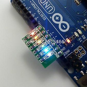 Dc 3-12v 6 Bit Multicolor LED Modul Board für Arduino Due Uno Mega2560 Mega