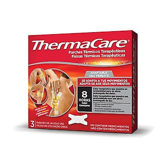 Adaptive therapeutic thermal patches 3 units