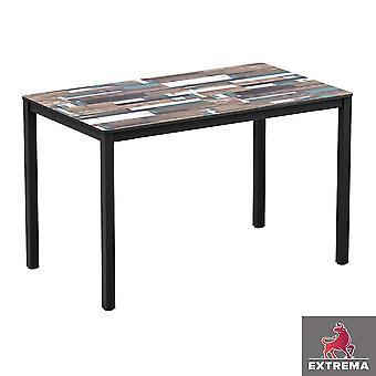 Erman Driftwood 4 Leg Table 119x69cm