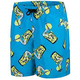 Speedo Boys Fluo Fizz Printed Leisure 15 inch Swim Short