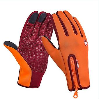 Fleece Mobile Phone, Touch Screen Bicycle, Outdoor Running Gloves