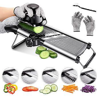 Adjustable Mandoline Slicer Best for Slicing Food, Fruit and Vegetables Professional Grade