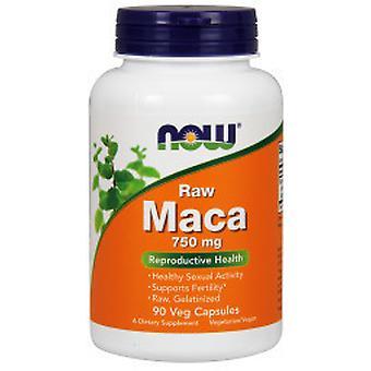 Now Foods Maca 750 mg Raw 90 Capsule