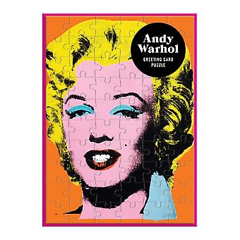 Andy Warhol Marilyn Greeting Card Puzzle by By artist Andy Warhol & Created by Galison