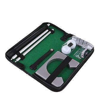 Travel Golf Putter  Set Putting Cup Hole With Detachable