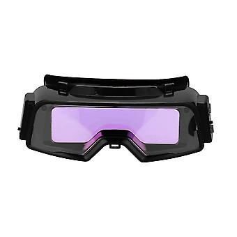 Auto darkening welding goggles for tig mig mma professional weld glasses multifunction utility tool