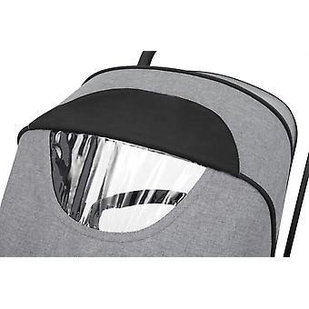 Ickle Bubba Moon 2 in 1 Carrycot and Pushchair - Grey