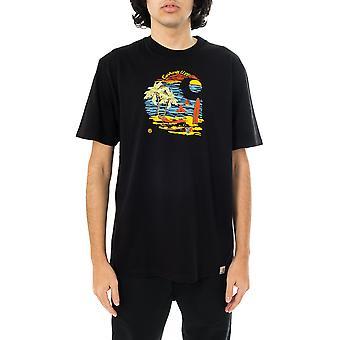 Camiseta para hombre carhartt wip s/s playa c camiseta i029020.89