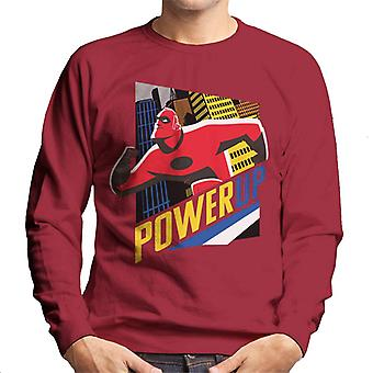 Pixar The Incredibles Mr Incredible Power Up Men's Sweatshirt