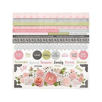 Kaisercraft - Cottage Rose Sticker Sheet