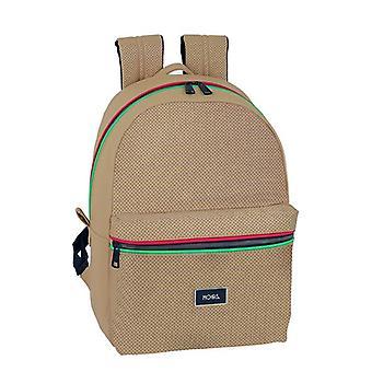 Laptop Backpack Moos 15,6'' Camel