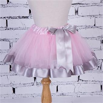 Tutu Skirt, Christmas Cloth Style Lace Ribbon Mini Princess Skirts