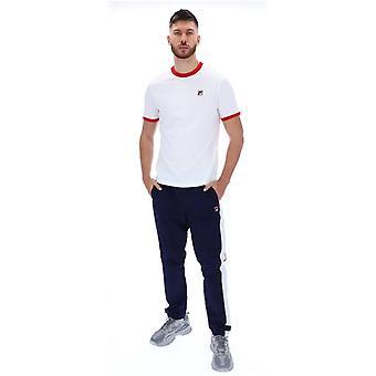 FILA Marconi T-Shirt - White/Red