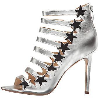 Katy Perry Womens Stella couro aberto Toe sandálias de tiras ocasião especial